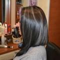 блондирование на темные волосы фото